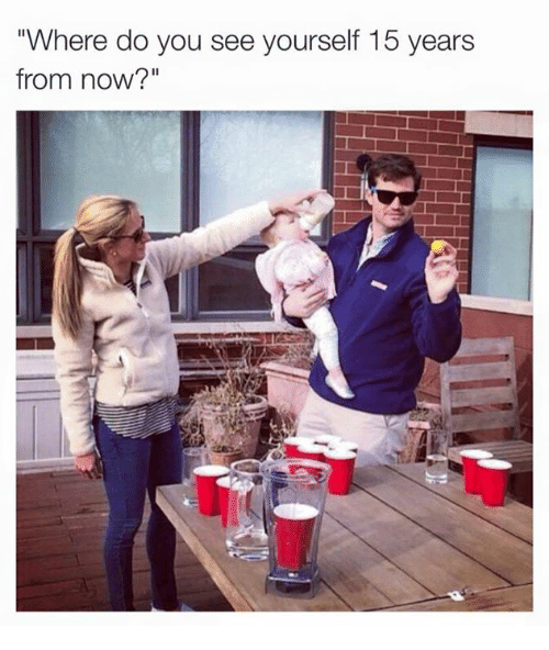 where do you see yourself in ten years