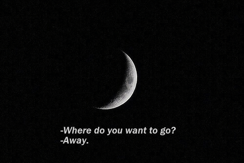 You, Do You, and Go Away: Where do you want to go?  -Away