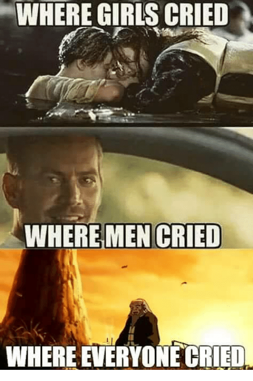 the men cry out the girls cry out