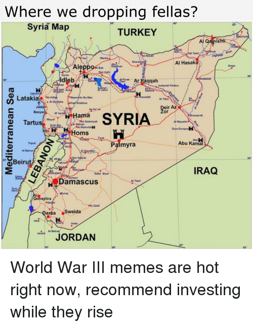 25 Best Memes About Syria Map Syria Map Memes