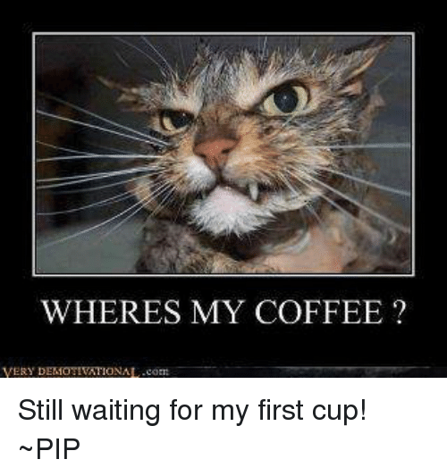 wheres my coffee very demotivational com still waiting for my first 12336870 ✅ 25 best memes about sense this picture makes none sense this,Wheres My Coffee Meme