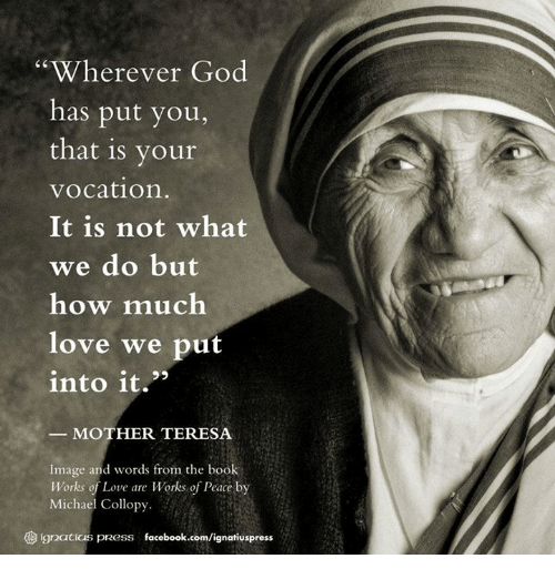 Your Vocation of Love