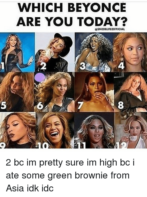WHICH BEYONCE ARE YOU TODAY? esNOBLIFE OFFICIAL 2 Bc Im ...