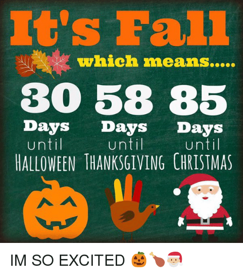 christmas halloween and thanksgiving which means 30 58 - Halloween And Christmas