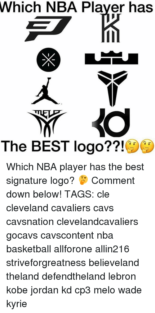 Memes And Cle Which NBA Player Has The BEST Logo