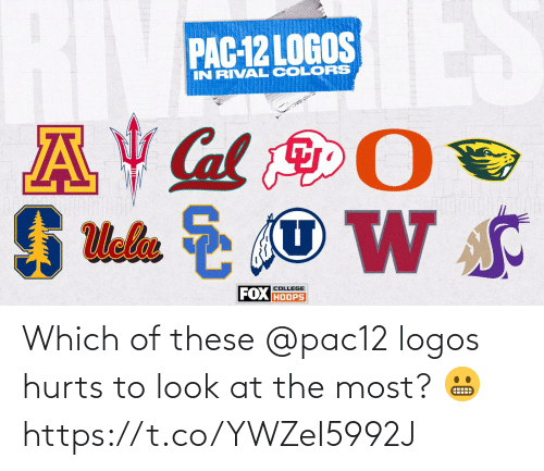 Memes, Logos, and 🤖: Which of these @pac12 logos hurts to look at the most? 😬 https://t.co/YWZeI5992J