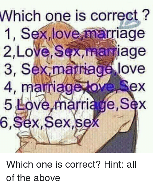 What is correct age for marriage