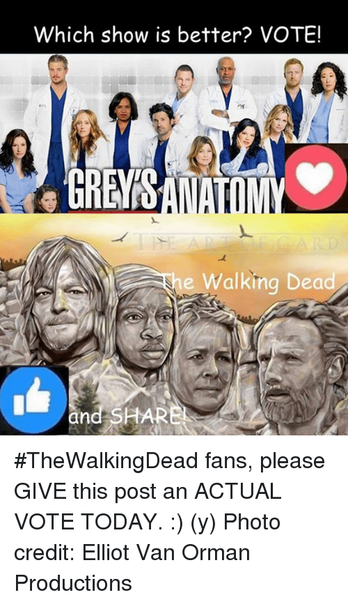 af140ee23a2688 Which Show Is Better  VOTE! E Walking Dead and SHAR  TheWalkingDead ...