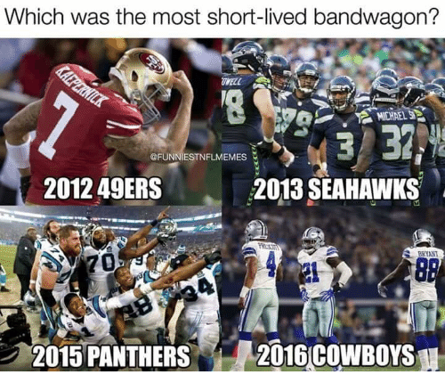 Which Was The Most Short Lived Bandwagon Well 2012 49ers