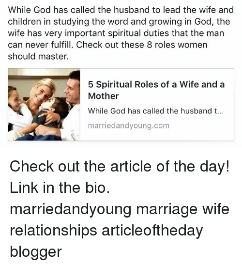 while god has called the husband to lead the wife and children inmarriage, memes, and blogger while god has called the husband to lead the