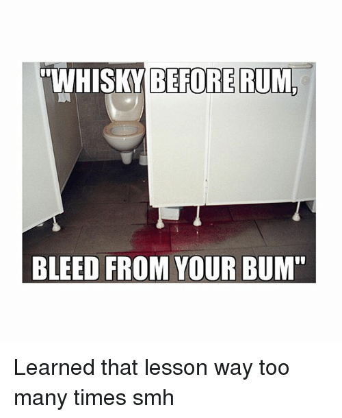 Bleeding from your bum-1064