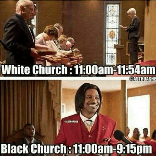 White Church 1100am 1154am Astroashe Black Church 1100am