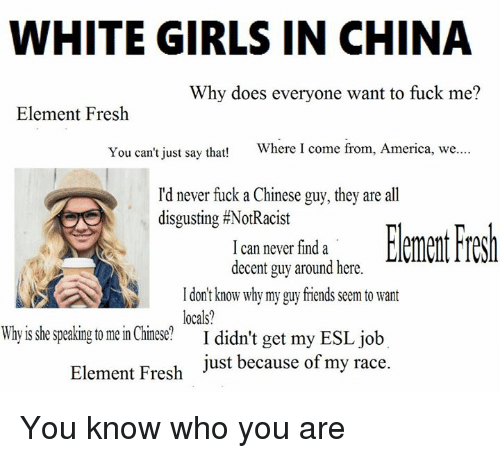 Chinese Fuck White Girl
