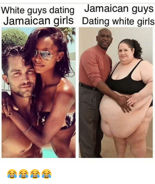 White girl dating