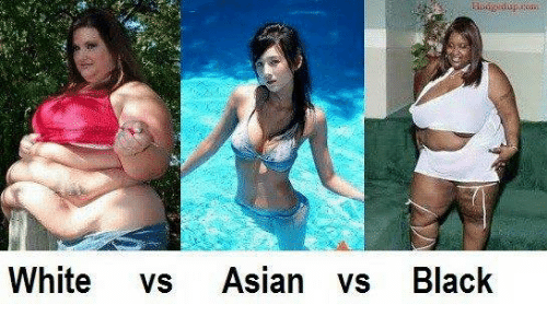 Chinese women vs black women