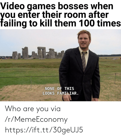 Who, Via, and You: Who are you via /r/MemeEconomy https://ift.tt/30geUJ5