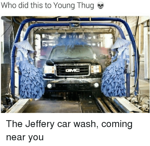 Who Did This To Young Thug The Jeffery Car Wash Coming