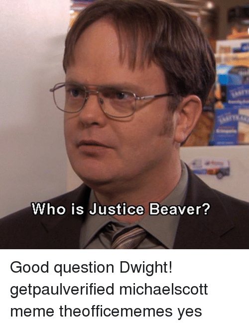 The gallery for --> Question Dwight