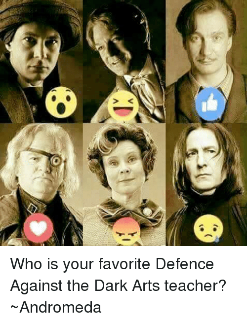 Who Is Your Favorite Defence Against The Dark Arts Teacher