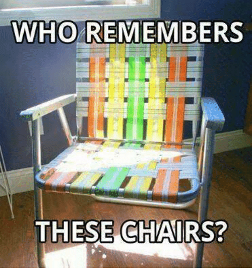 Who Remembers These Chairs Mexican Word Of The Day Meme On Me Me