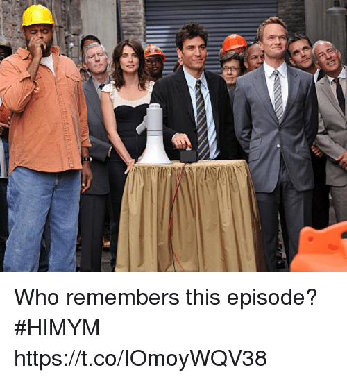 Memes, 🤖, and Himym: Who remembers this episode? #HIMYM https://t.co/IOmoyWQV38
