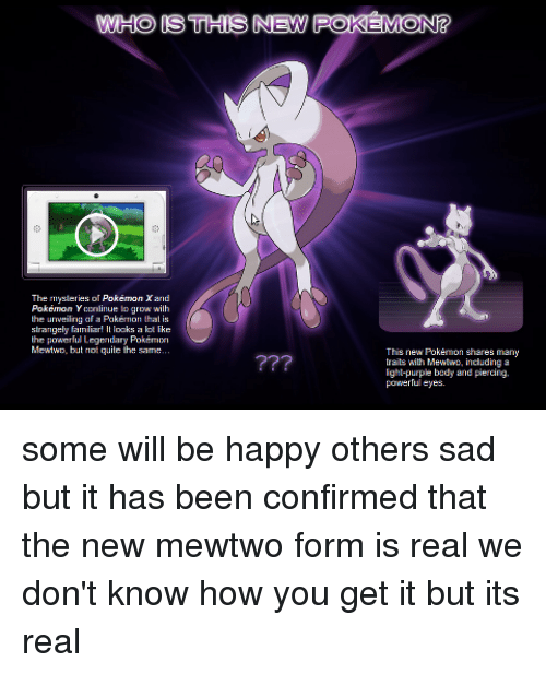 ✅ 25+ Best Memes About New Mewtwo   New Mewtwo Memes