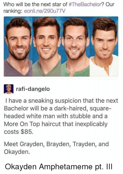 who will be the next star of thebachelor our ranking 21626823 25 best the next bachelor memes with memes