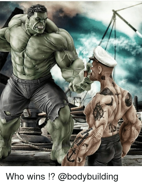 Memes, Bodybuilding, and 🤖: Who wins !? @bodybuilding