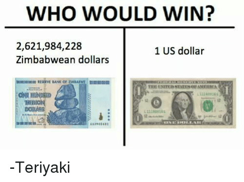 Dank And Us Dollar Who Would Win 2 621 984 228 1