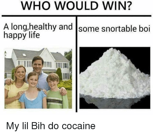 Who Would Win A Longhealthy And Some Snortable Boi Happy Life My