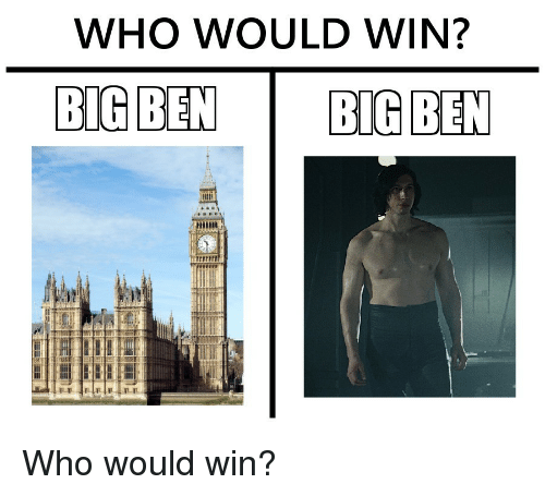 Who, Win, and Who-Would-Win: WHO WOULD WIN?  ARE Who would win?