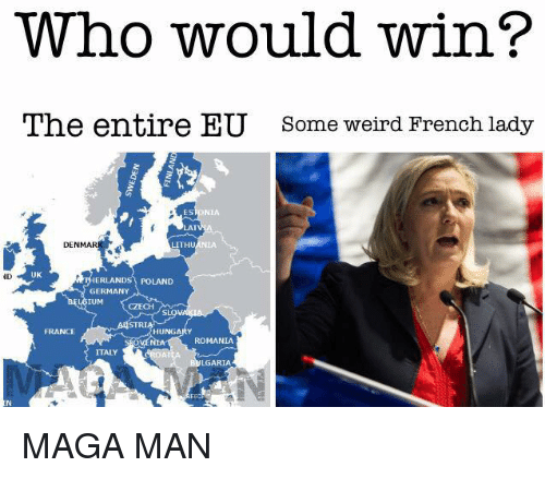 who would win the entire eu some weird french lady 24361961 ✅ 25 best memes about hungary hungary memes