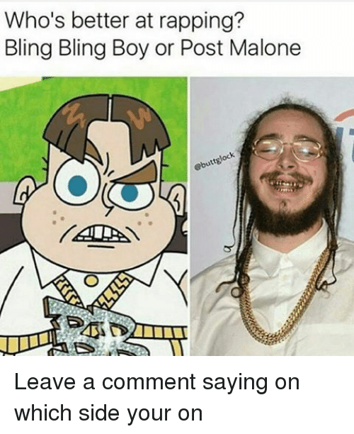 Download Better Now By Post Malone: Bling Bling Boy Images