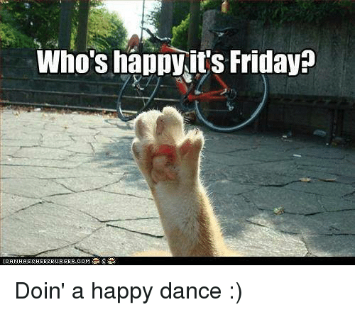 Image result for picture of happy friday dance