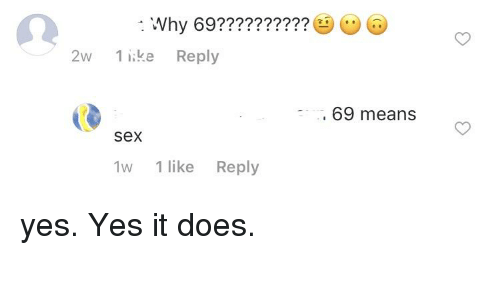 what the 69 mean
