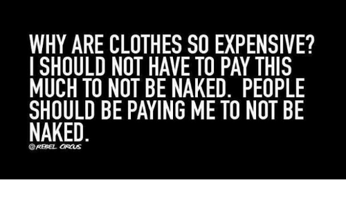 Why are clothes so expensive?
