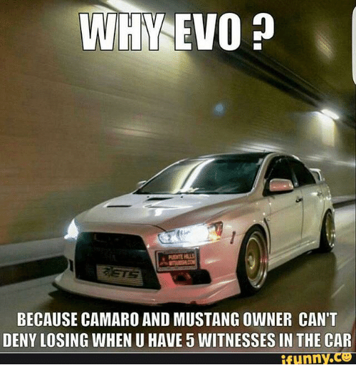 Why Because Camaro And Mustang Owner Cant Deny Losing When U