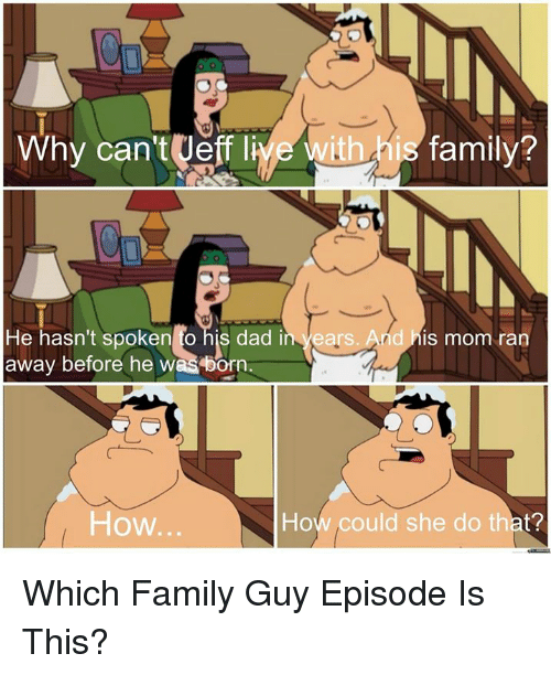 Family guy dating a girl with a bad laugh