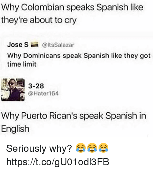 Do they speak english in spanish