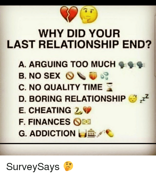 Lack of sex leads to cheating