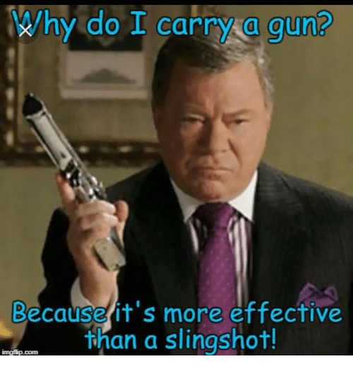 Why Grandpa carries a gun