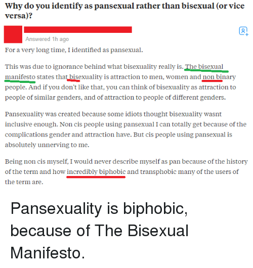 Pansexuality history