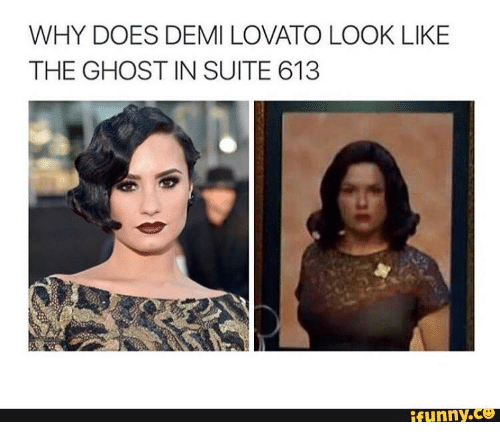 why does demi lovato look like the ghost in suite 14364865 25 best poot lovato vine memes why doe memes, ifunnier memes
