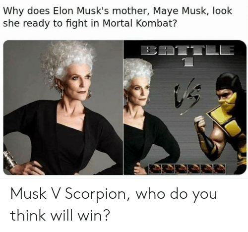 Why Does Elon Musk's Mother Maye Musk Look She Ready to Fight in