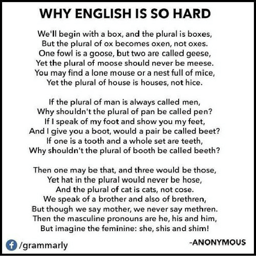 why i dont speak in english essay Why i don't speak in english by: eissen lorenz d ros iii-patience for as filipinos, english is our second language and it's the nationwide used language.