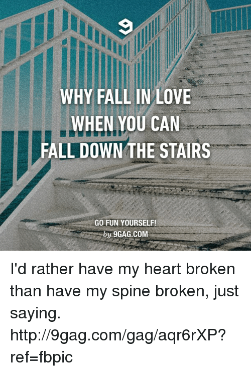 Fall Down The Stairs