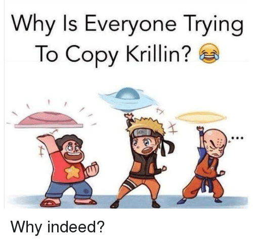Memes, Krillin, and 🤖: Why Is Everyone Trying  To Copy Krillin? Why indeed?