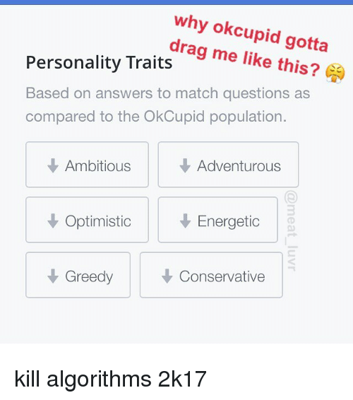 Okcupid more conservative