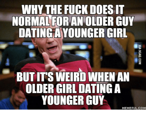 a girl dating a younger guy how to tell someone you just want to hook up
