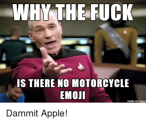 Apple, Emoji, and Fucking: WHY THE FUCK